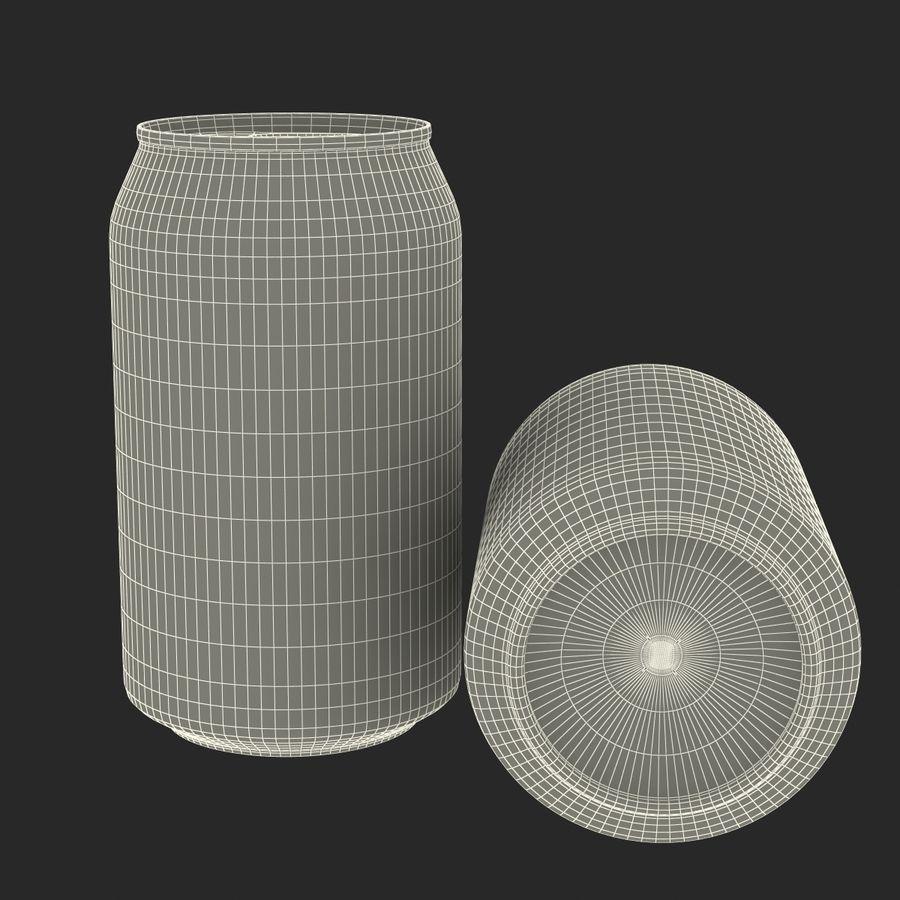 Aluminium Can Open 3D Model royalty-free 3d model - Preview no. 17