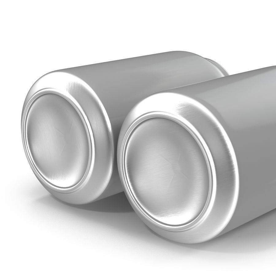 Aluminium Can Open 3D Model royalty-free 3d model - Preview no. 10