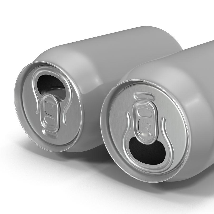 Aluminium Can Open 3D Model royalty-free 3d model - Preview no. 11