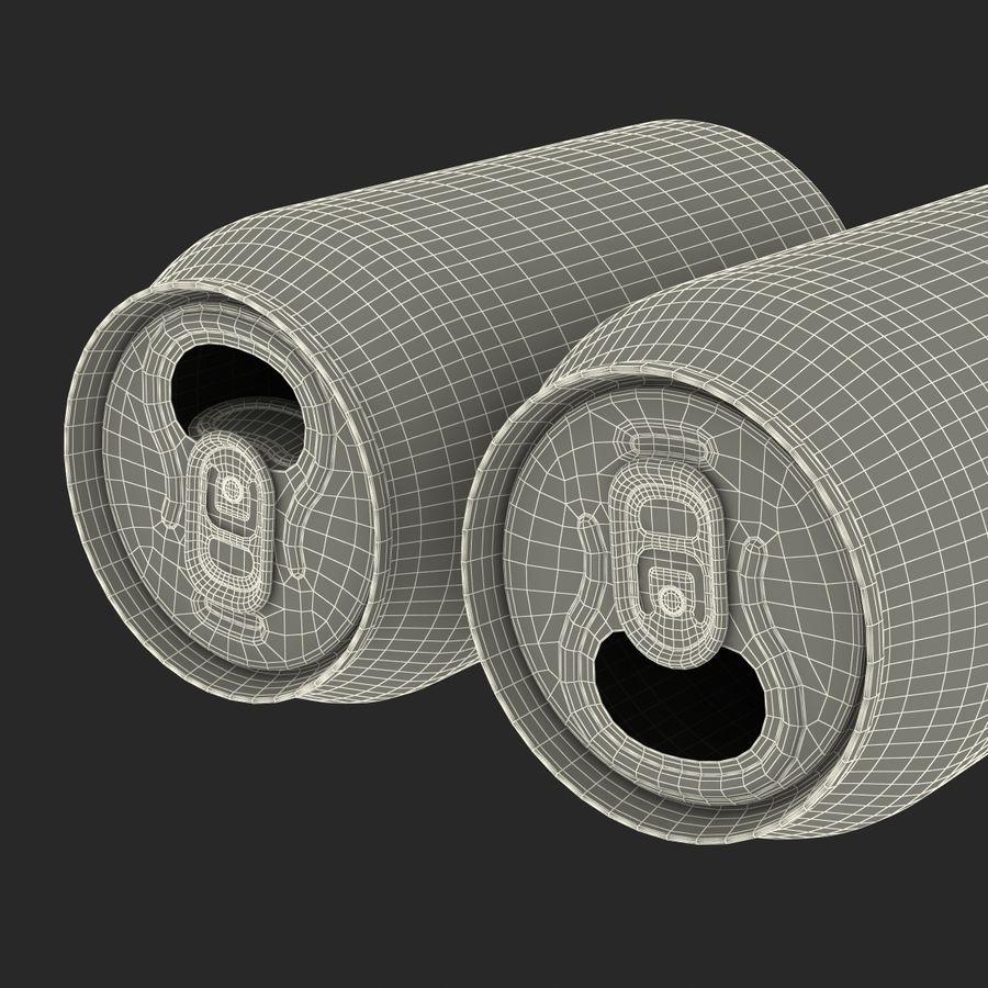 Aluminium Can Open 3D Model royalty-free 3d model - Preview no. 21