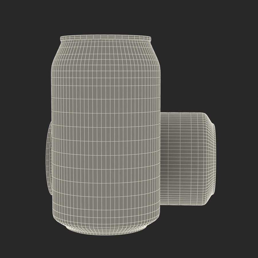 Aluminium Can Open 3D Model royalty-free 3d model - Preview no. 18