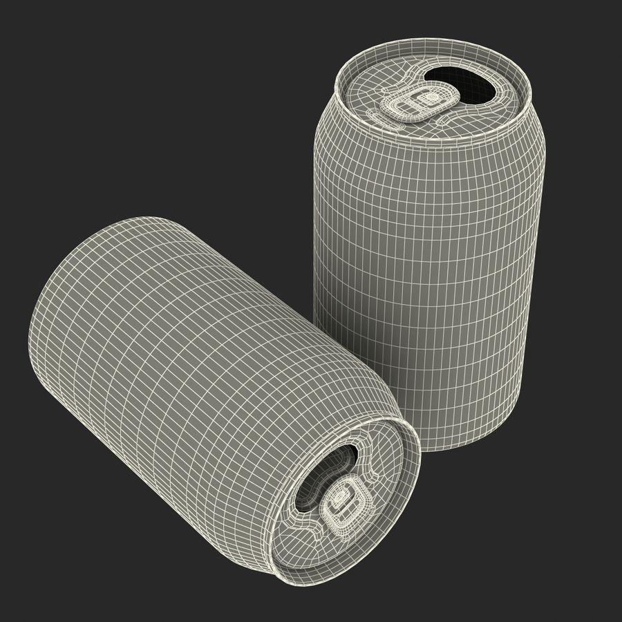 Aluminium Can Open 3D Model royalty-free 3d model - Preview no. 19