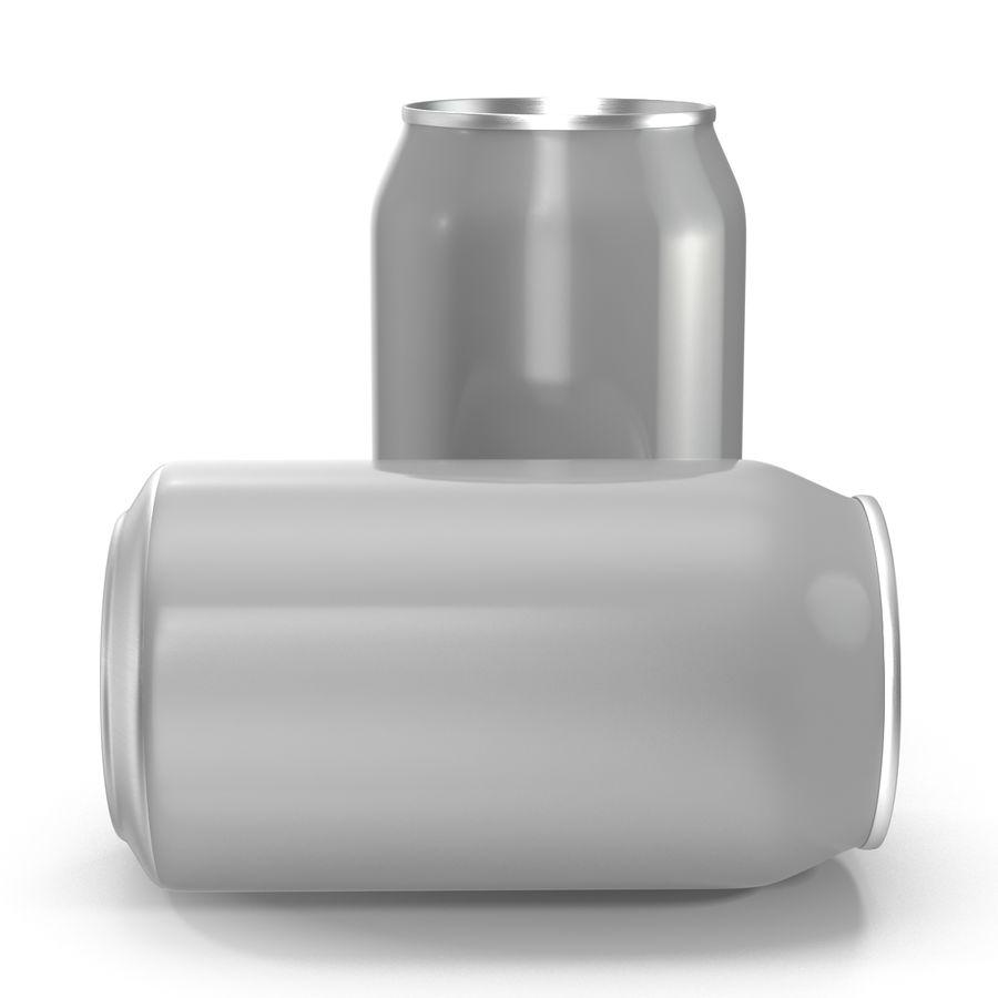 Aluminium Can Open 3D Model royalty-free 3d model - Preview no. 7