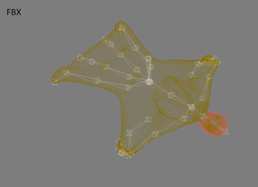 3D Wingsuit Mannelijke Flyer Model Rigged Animated royalty-free 3d model - Preview no. 20