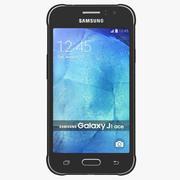 三星Galaxy J1 Ace Black 3d model
