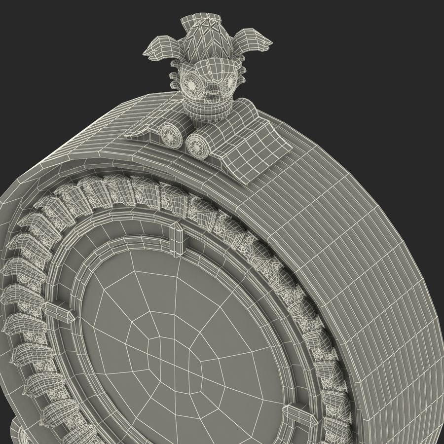 New York Street Clock royalty-free 3d model - Preview no. 29