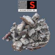 Postes de concreto 8K 3d model