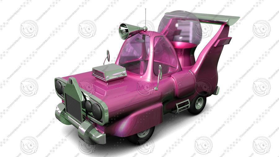 мультяшный автомобиль royalty-free 3d model - Preview no. 5