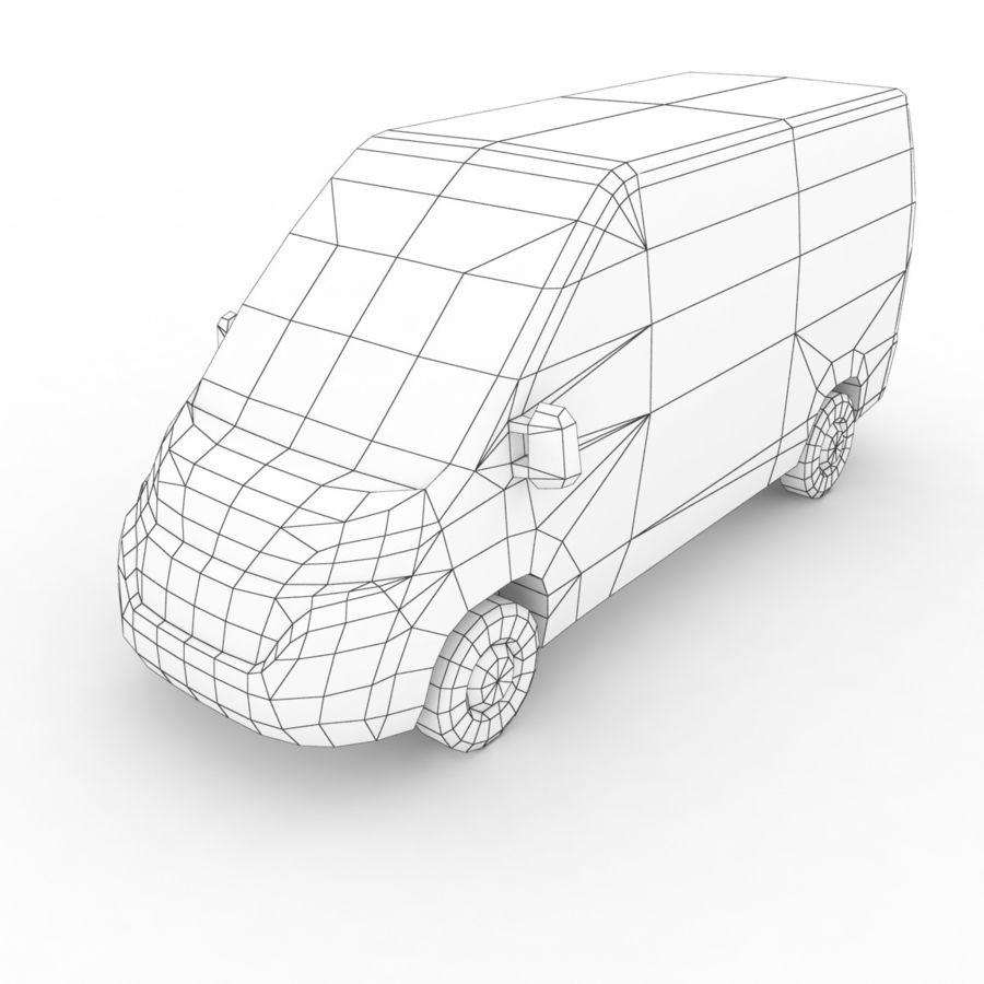 Peugeot Boxer Emergency Ambulance 2015 royalty-free 3d model - Preview no. 7