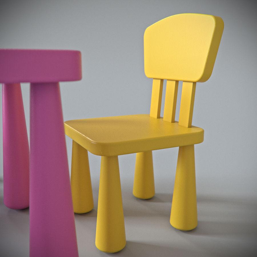 Ikea Mammut Furniture 3d Model 39 Max Obj Fbx Free3d