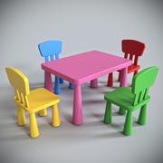 Ikea Mammut Furniture 3d model