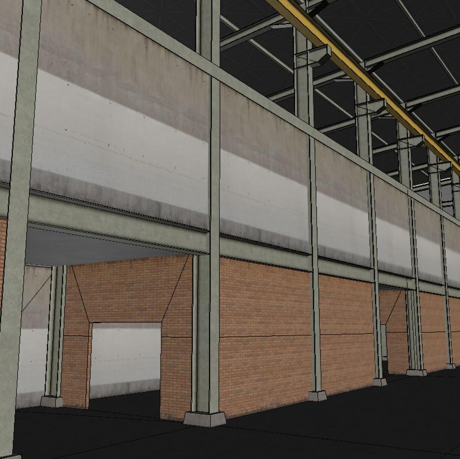 Hangar royalty-free 3d model - Preview no. 14
