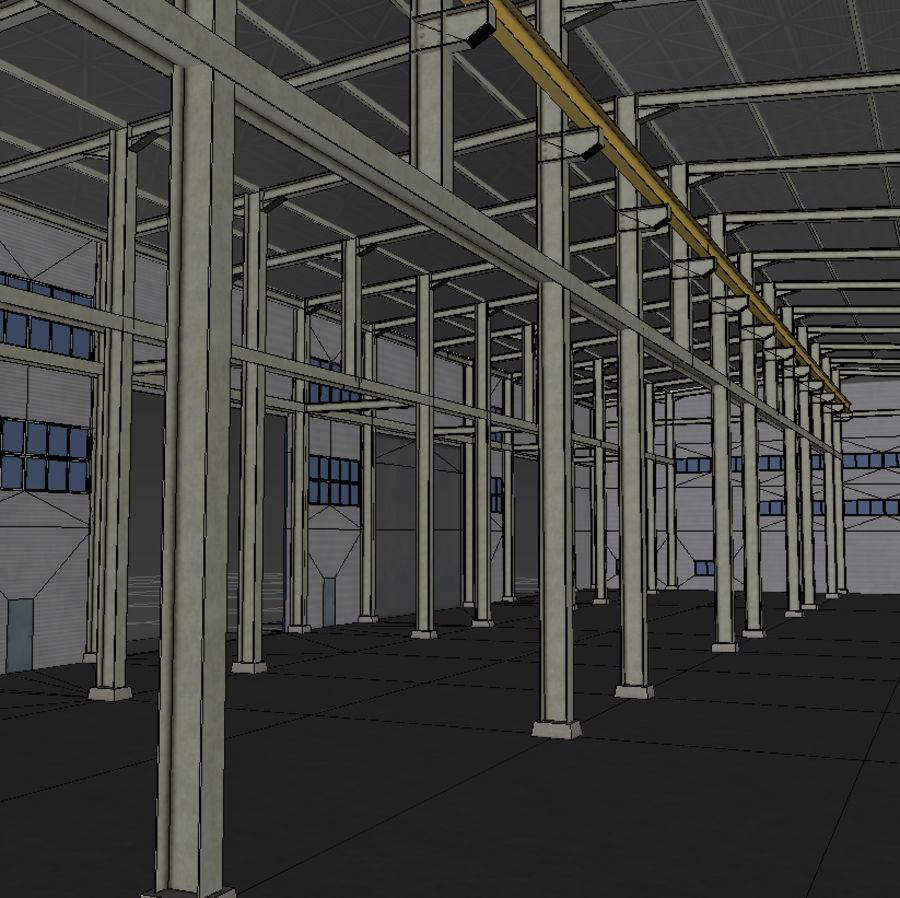 Hangar royalty-free 3d model - Preview no. 9