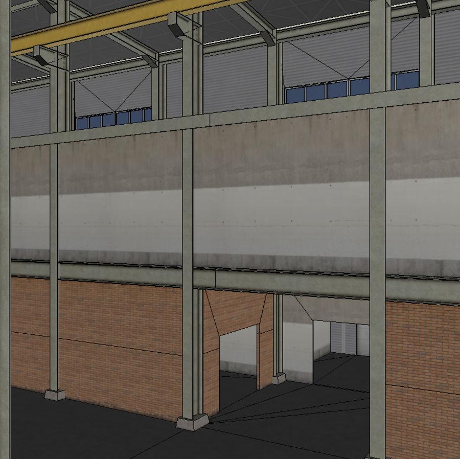 Hangar royalty-free 3d model - Preview no. 10