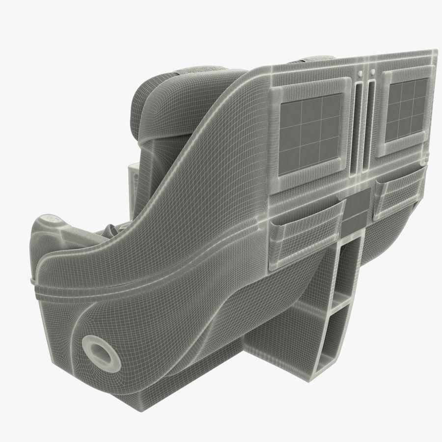 シート航空機 royalty-free 3d model - Preview no. 12