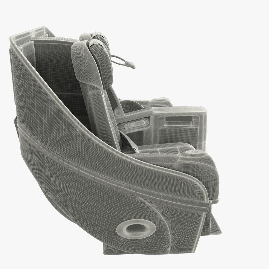 シート航空機 royalty-free 3d model - Preview no. 11