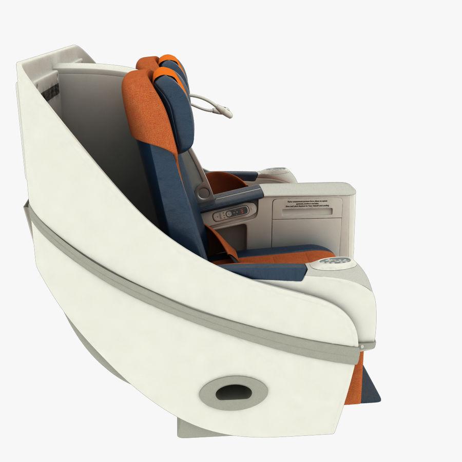 シート航空機 royalty-free 3d model - Preview no. 5