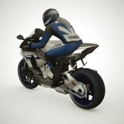 2015 Yamaha R1 3d model
