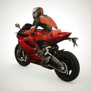 2015 Ducati 899 3d model