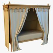 Kinderbett 3d model