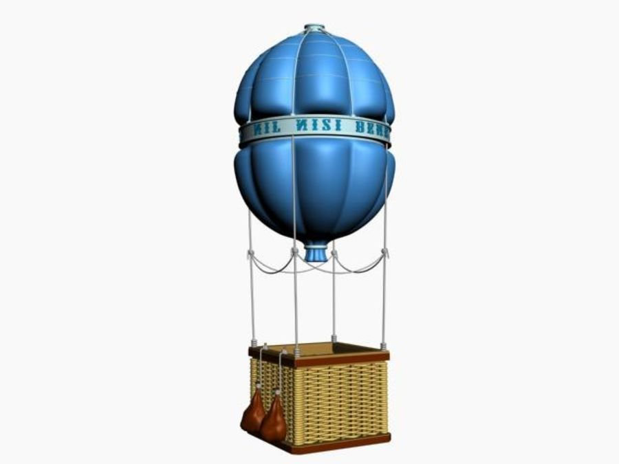Balloon royalty-free 3d model - Preview no. 4