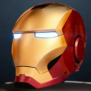 Casco Iron Man 3d model