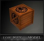 Box Game prêt 3d model