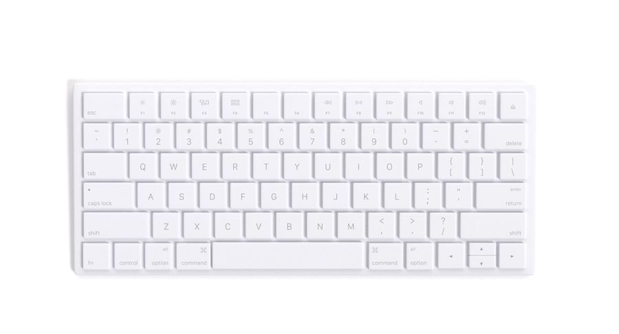 Apple Magic Keyboard royalty-free 3d model - Preview no. 3