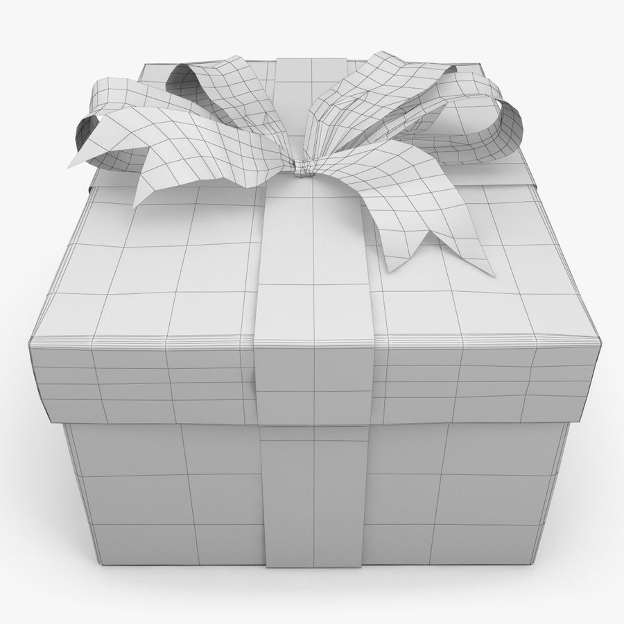 Christmas Present 5 royalty-free 3d model - Preview no. 5