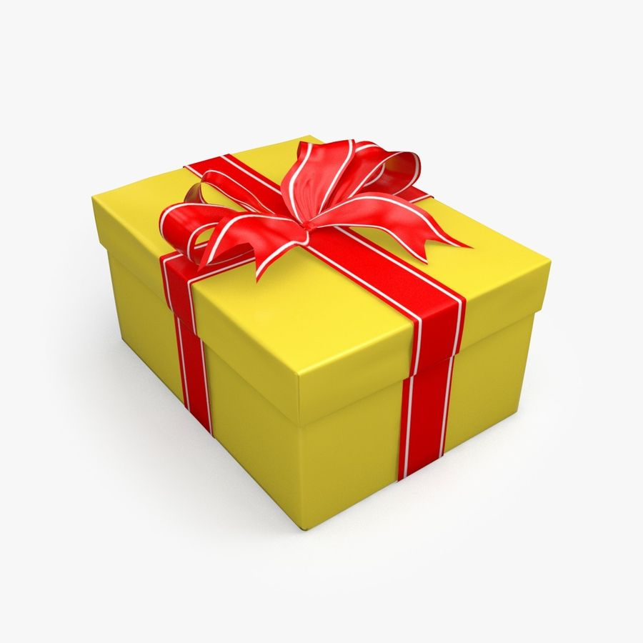 Presente de Natal 5 royalty-free 3d model - Preview no. 2