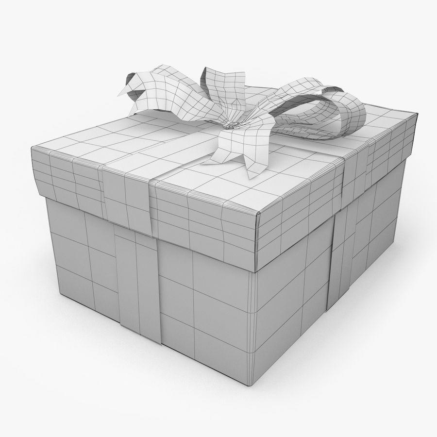 Presente de Natal 5 royalty-free 3d model - Preview no. 6