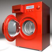 세탁기 3d model