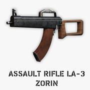 Штурмовая винтовка Зорина ЛА-3 3d model