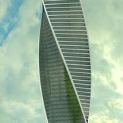 Wieża Ewolucji 3d model