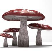 Mold Mushroom 1 3d model