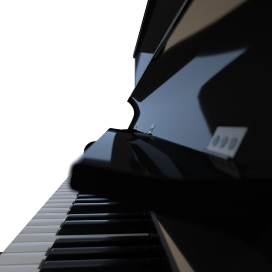 Piano royalty-free 3d model - Preview no. 10