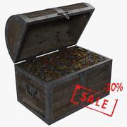 Skrzynia skarbów 3d model
