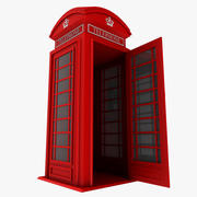 Britse telefooncel 3d model