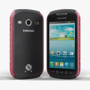 Samsung S7710 Galaxy Xcover 2 Nero Rosso 3d model