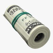 dollar roll 3d model