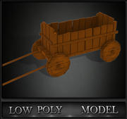 Trolley Game Ready 3d model