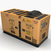 Генератор энергии (желтый) 3d model