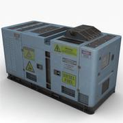 Stroomgenerator (blauw) 3d model