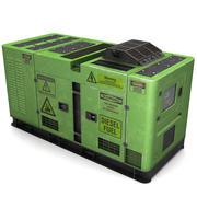 Stromerzeuger (grün) 3d model