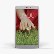 LG G Pad 8,3 bianco 3d model