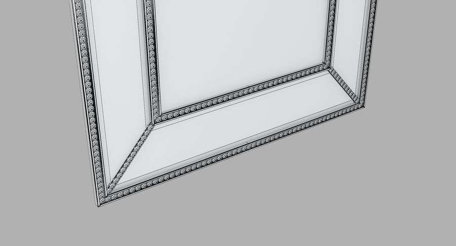 John Richard Picture Frame royalty-free 3d model - Preview no. 7
