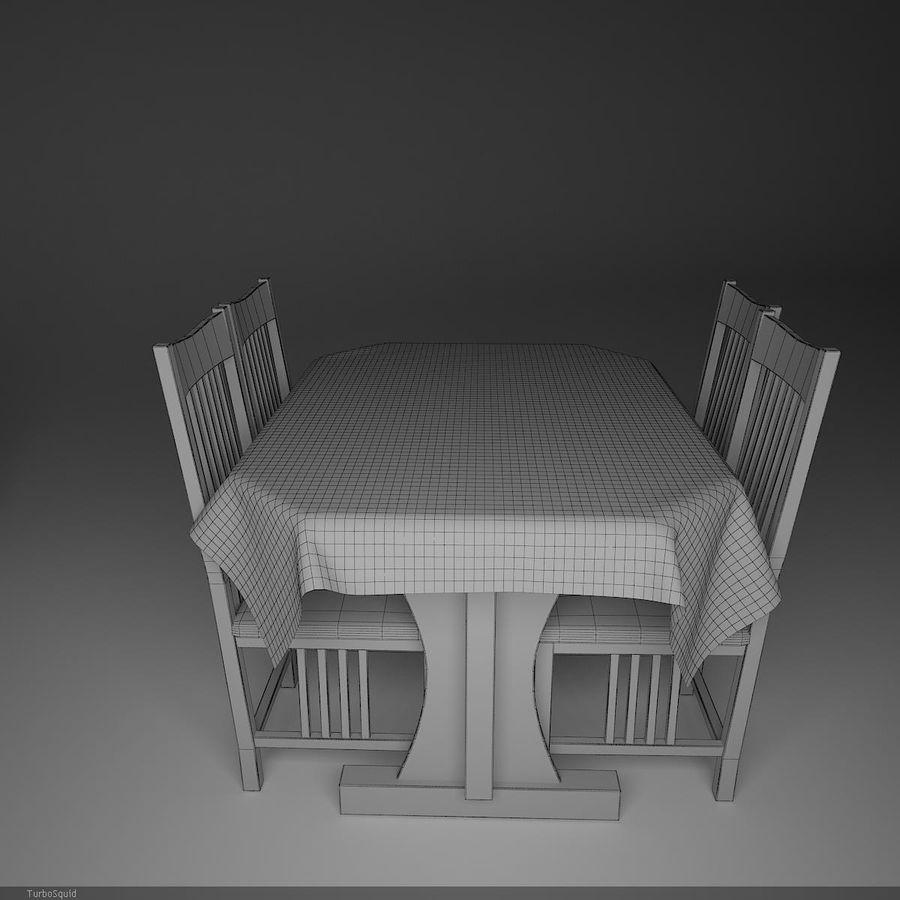 가구 식사 royalty-free 3d model - Preview no. 6