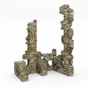 Ruins tower 3d model