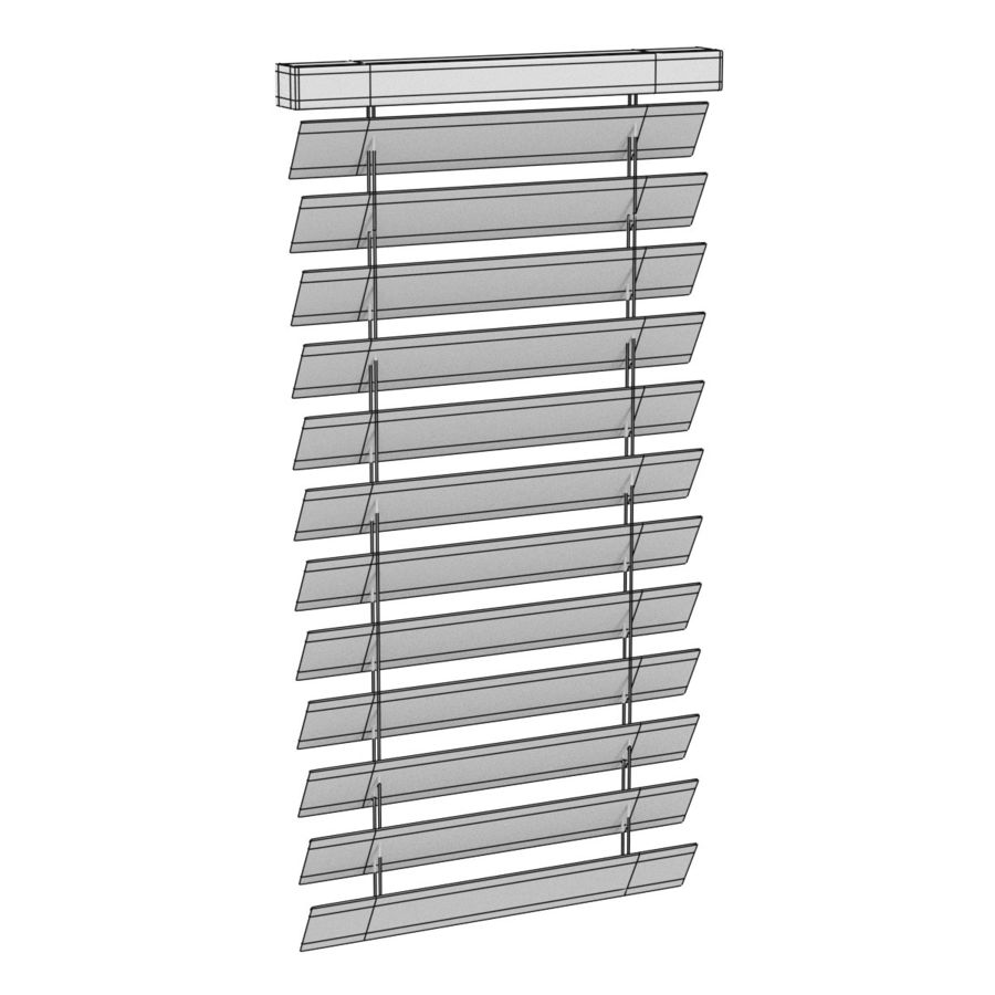 Blinds4 royalty-free 3d model - Preview no. 5