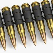 弾薬ベルト 3d model
